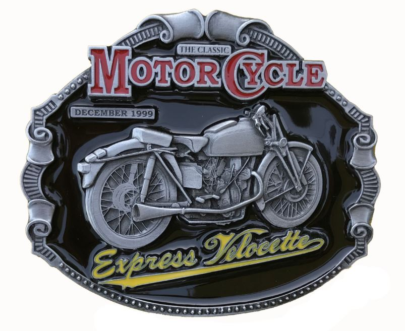 Express Velocette Belt Buckle