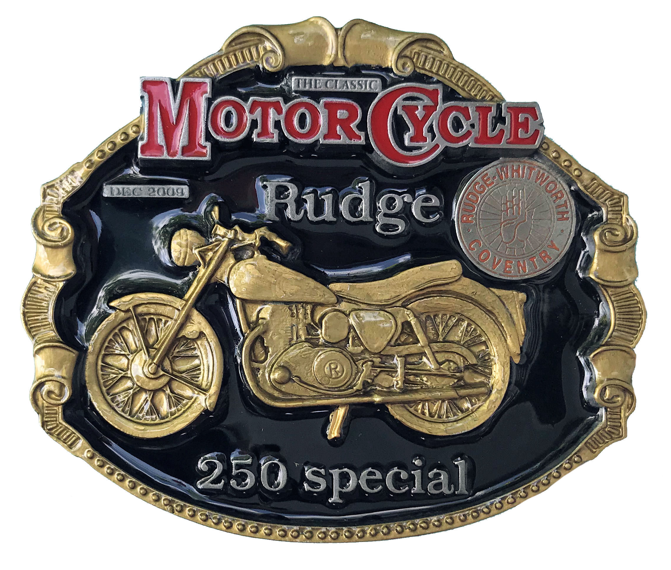 Rudge 250 Special Black & Gold Range