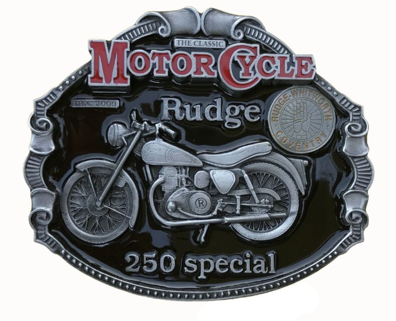 Rudge 250 Special Belt Buckle