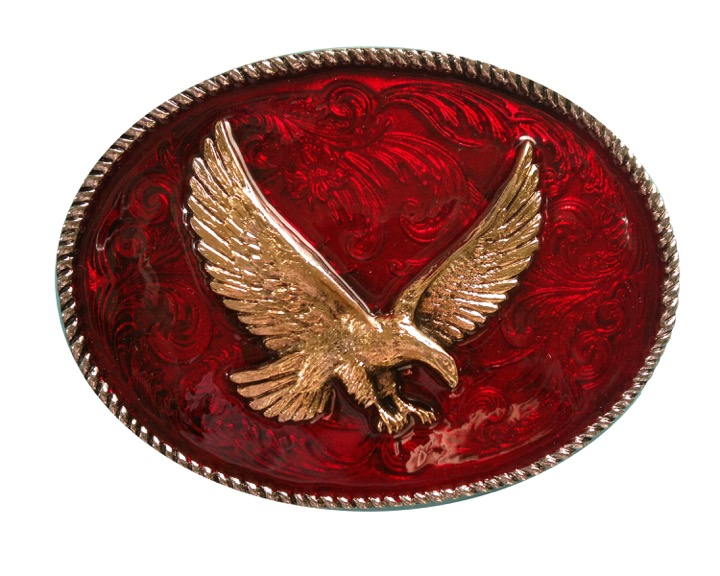 Rodeo Eagle Red And Gold