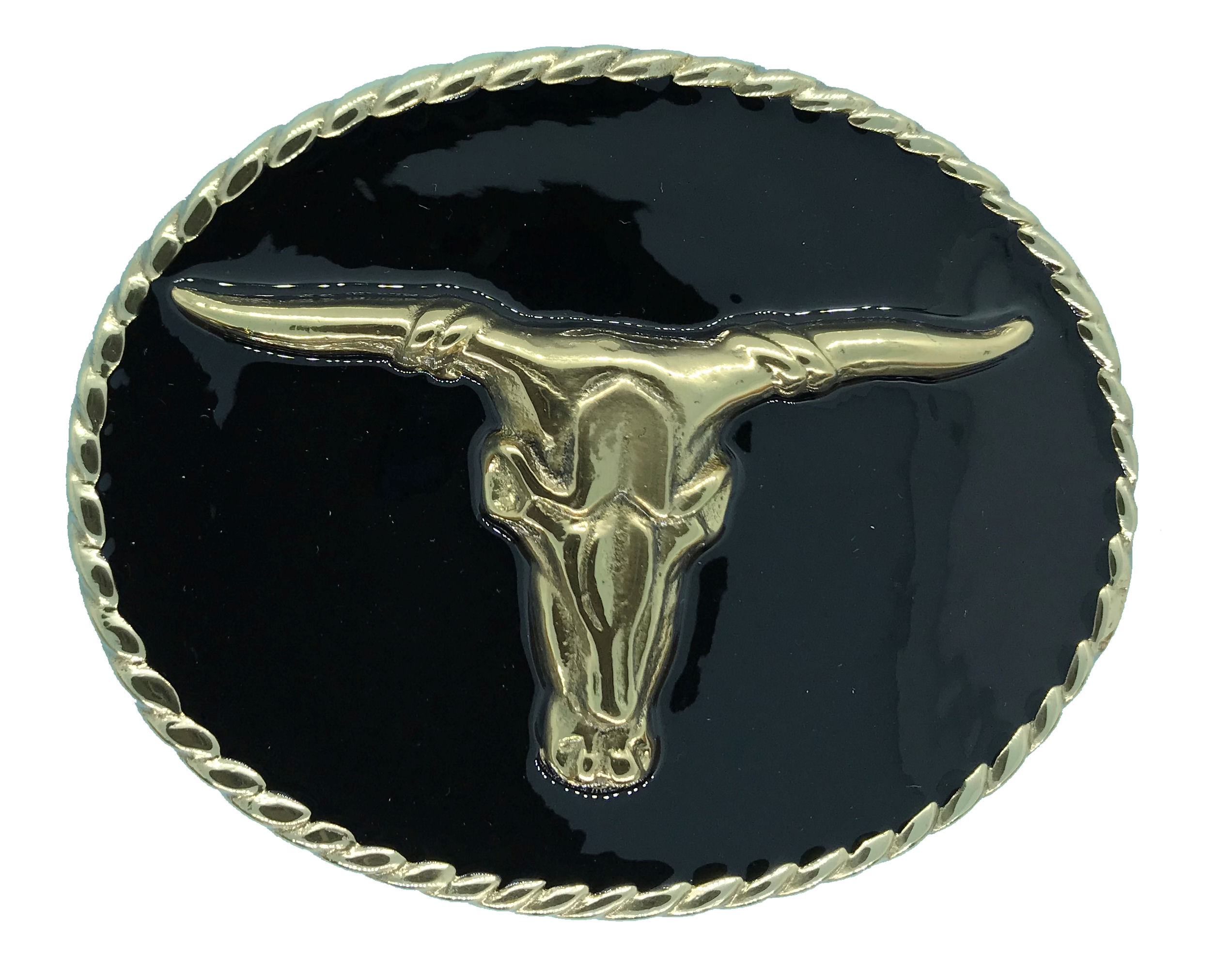 rodeo steer Black