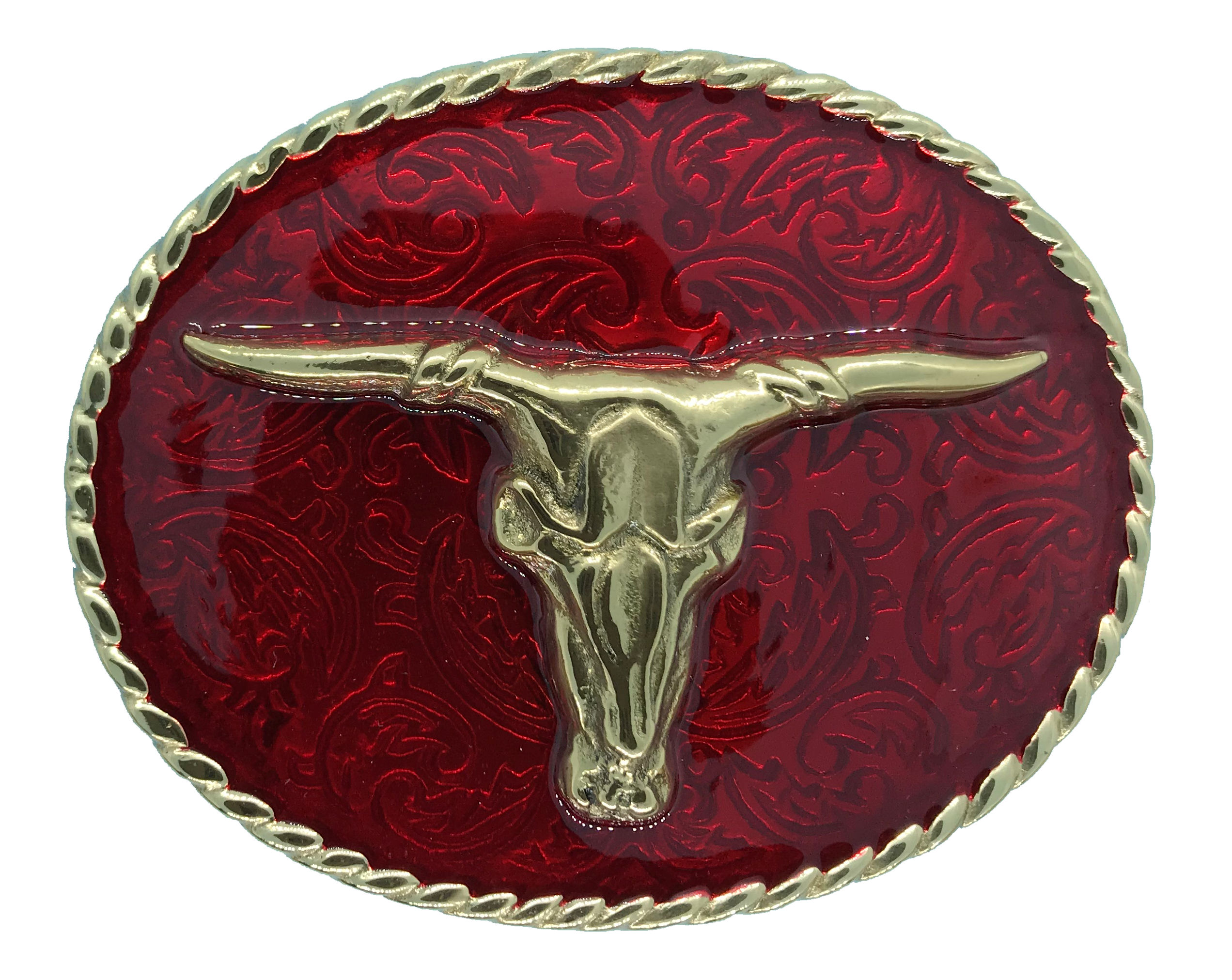 rodeo steer Red