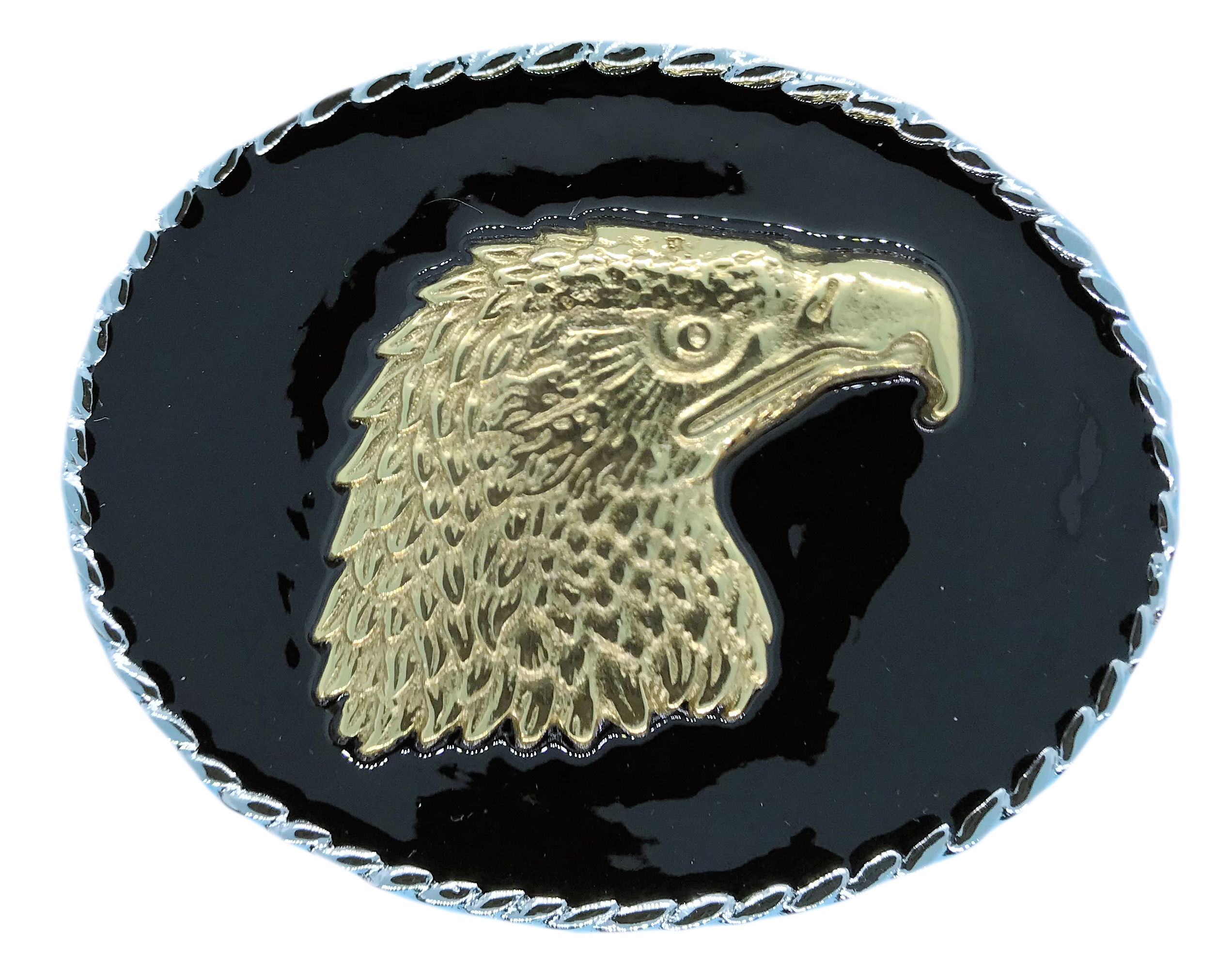 rodeo eagle head Black