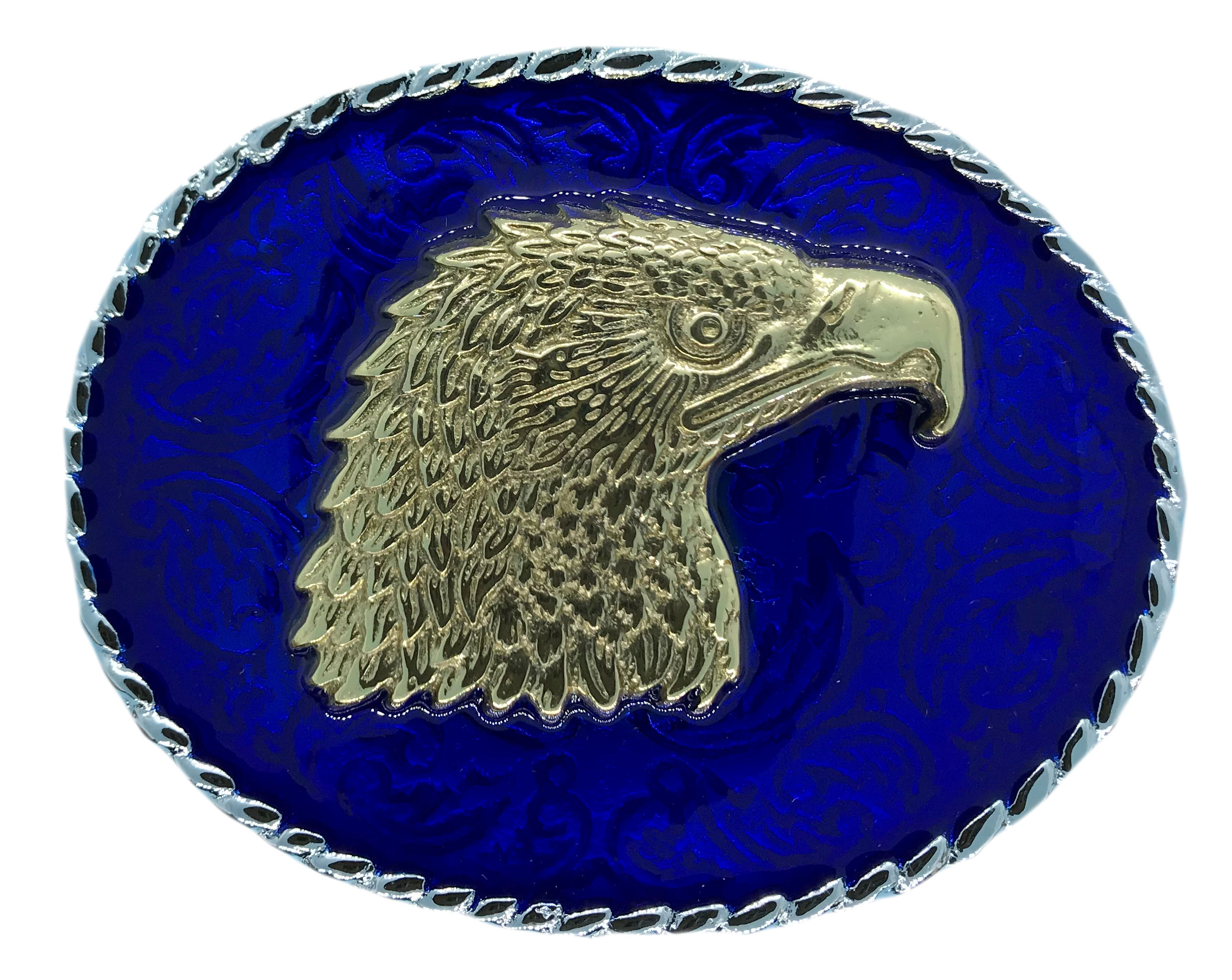 rodeo eagle head Blue