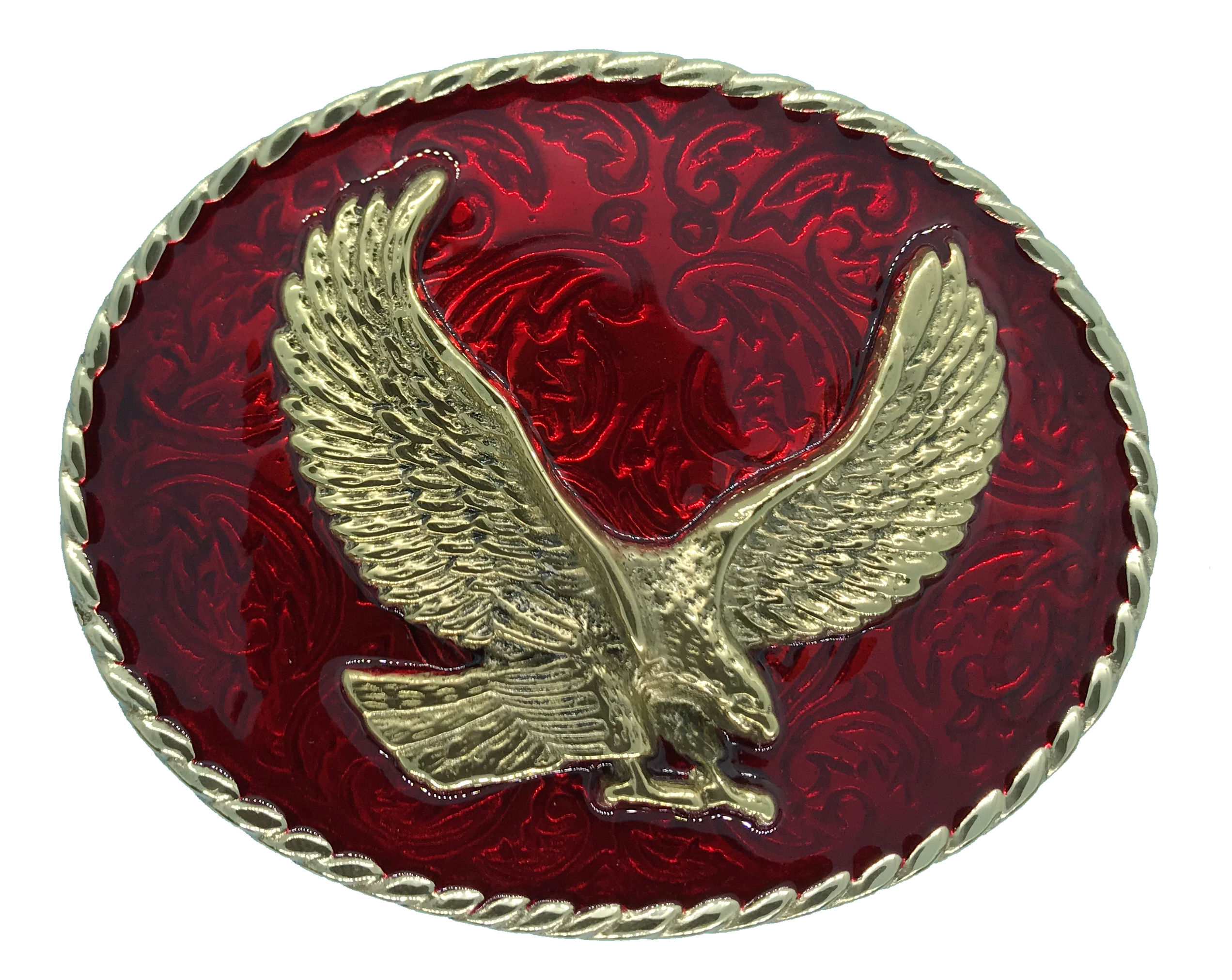 rodeo eagle Red
