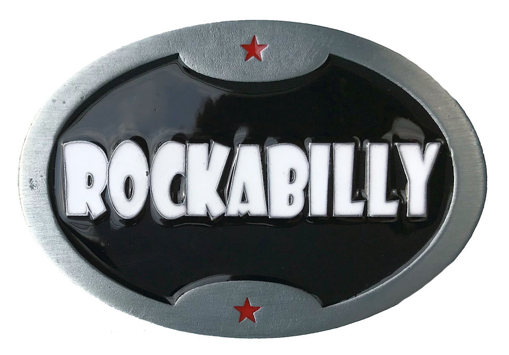 Rockabilly Belt Buckle