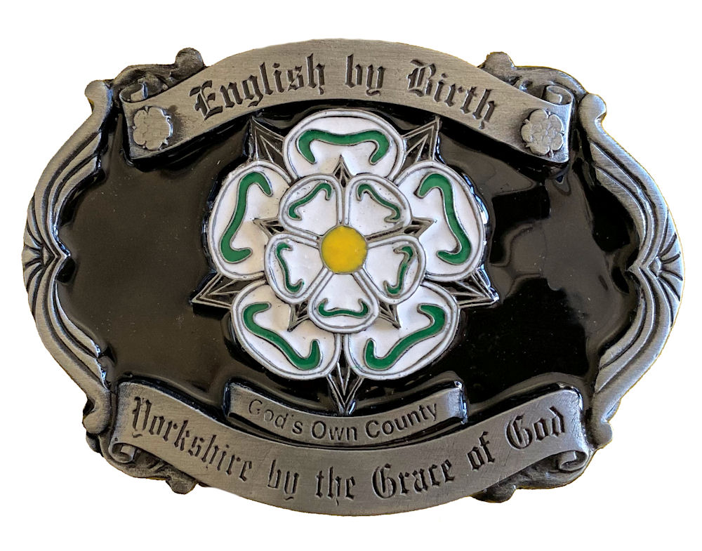 Yorkshire Rose Belt Buckle