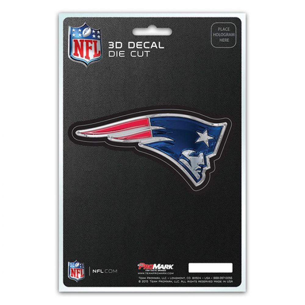 NFL 3-D Decal New England Patriots