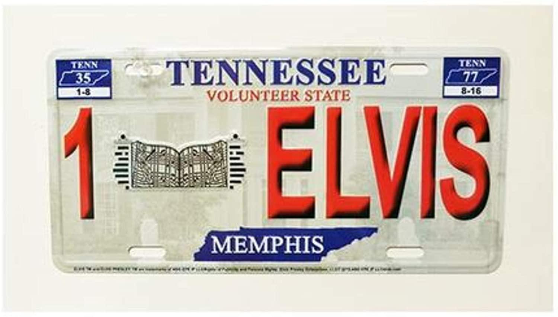Elvis License Plate 1Elvis