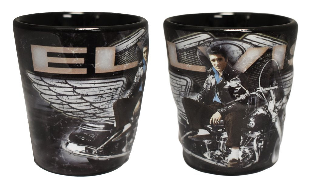 Elvis Presley Shot Glass