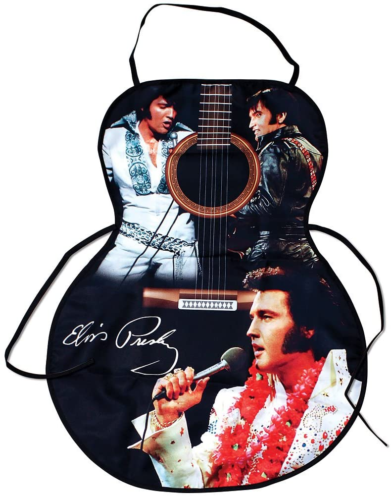 Elvis Apron Guitar Shape