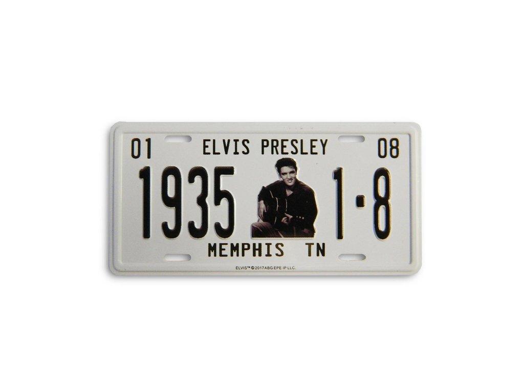 Elvis Magnet License Plate 1935