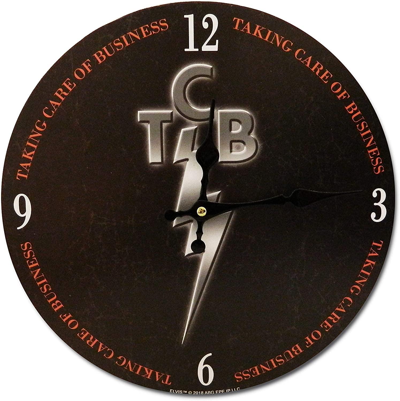 Elvis Presley Clock - TCB 11.75