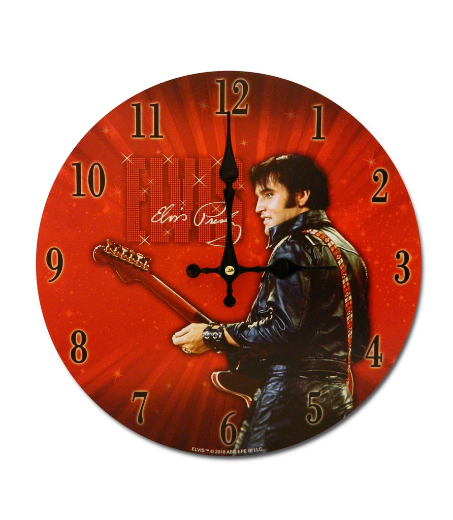Elvis Clock 68 Name