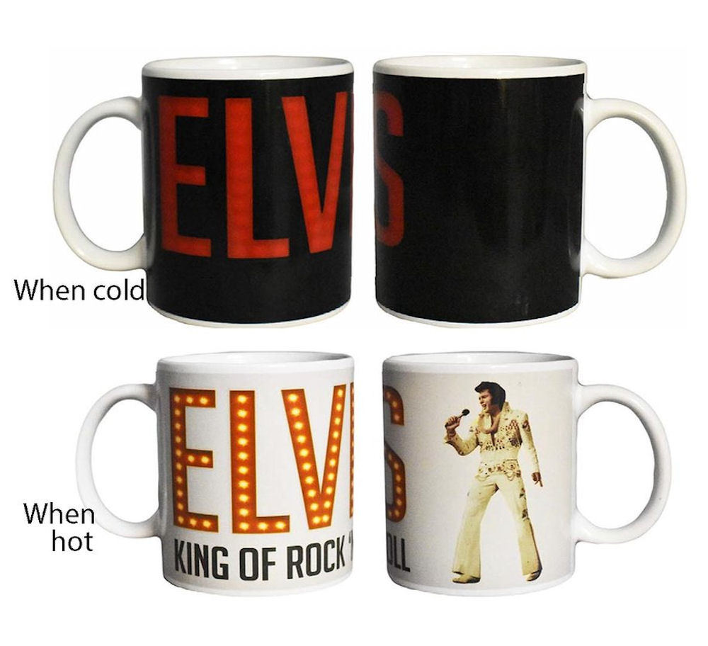 Elvis Image Changing Mug