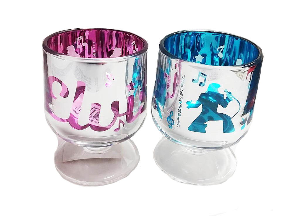 Elvis Shot Glasses Set of 2