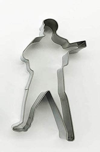 Elvis Cookie Cutter w/Guitar Shape