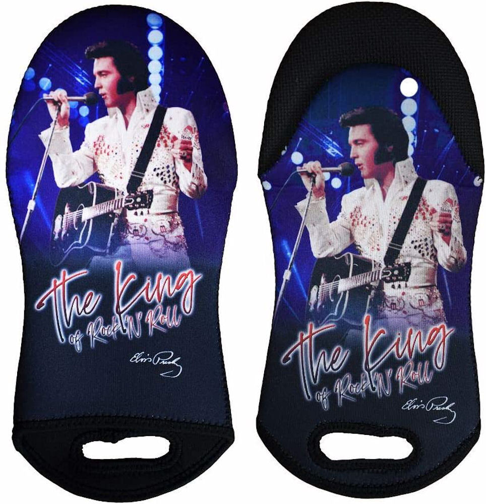 Elvis Presley Neoprene Oven Mitt The King White Jumpsuit