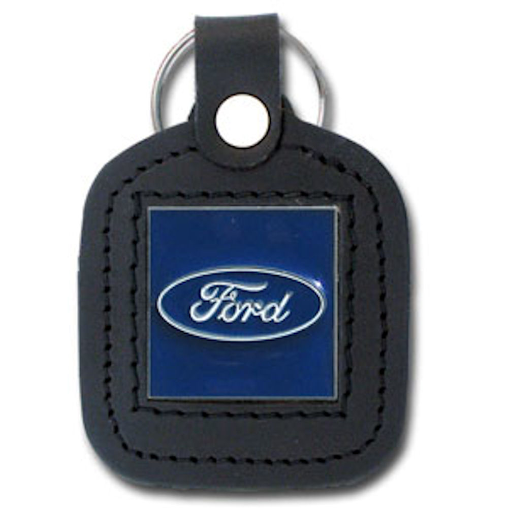 Ford Leather Key Ring Officially Licensed