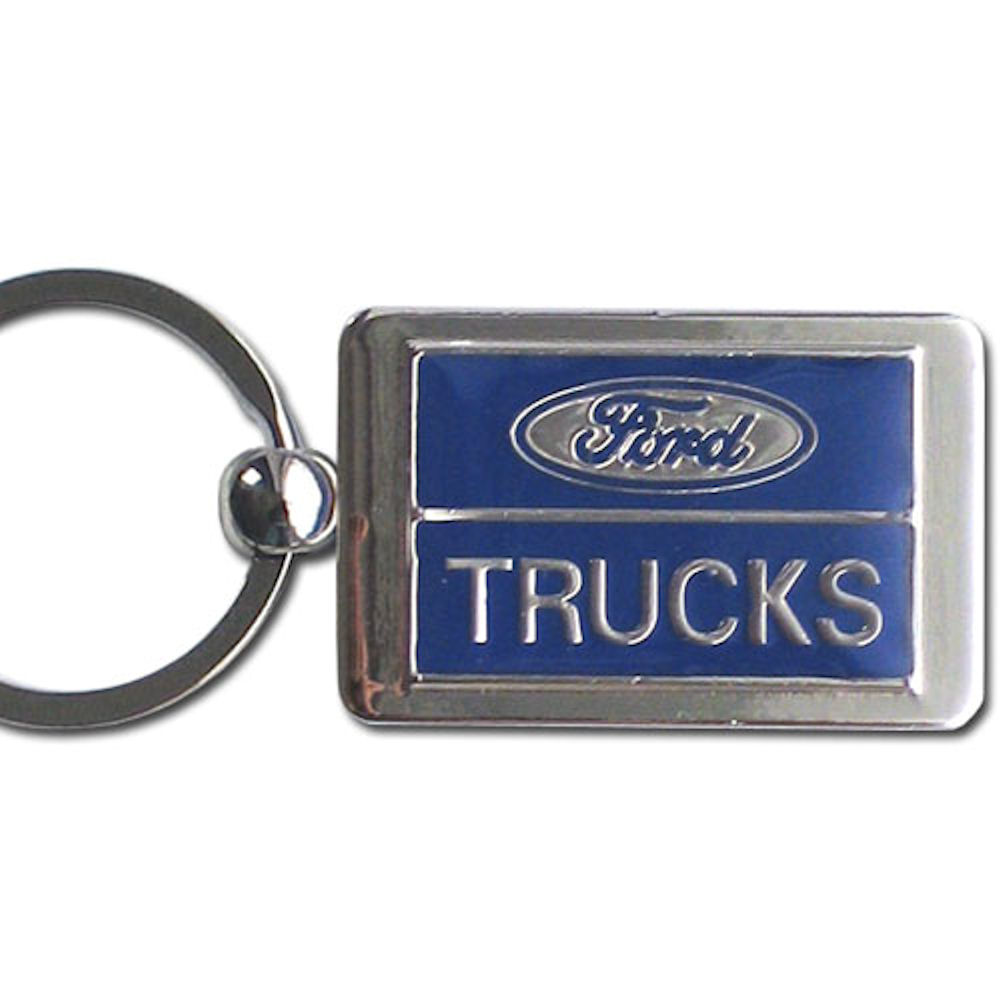 Ford Truck Chrome Key Chain Officially Licensed