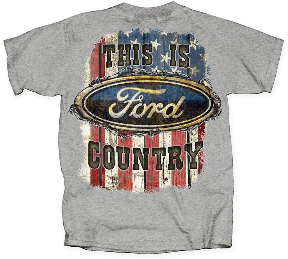 Ford Officially Licensed T Shirt - This is Ford Country Large