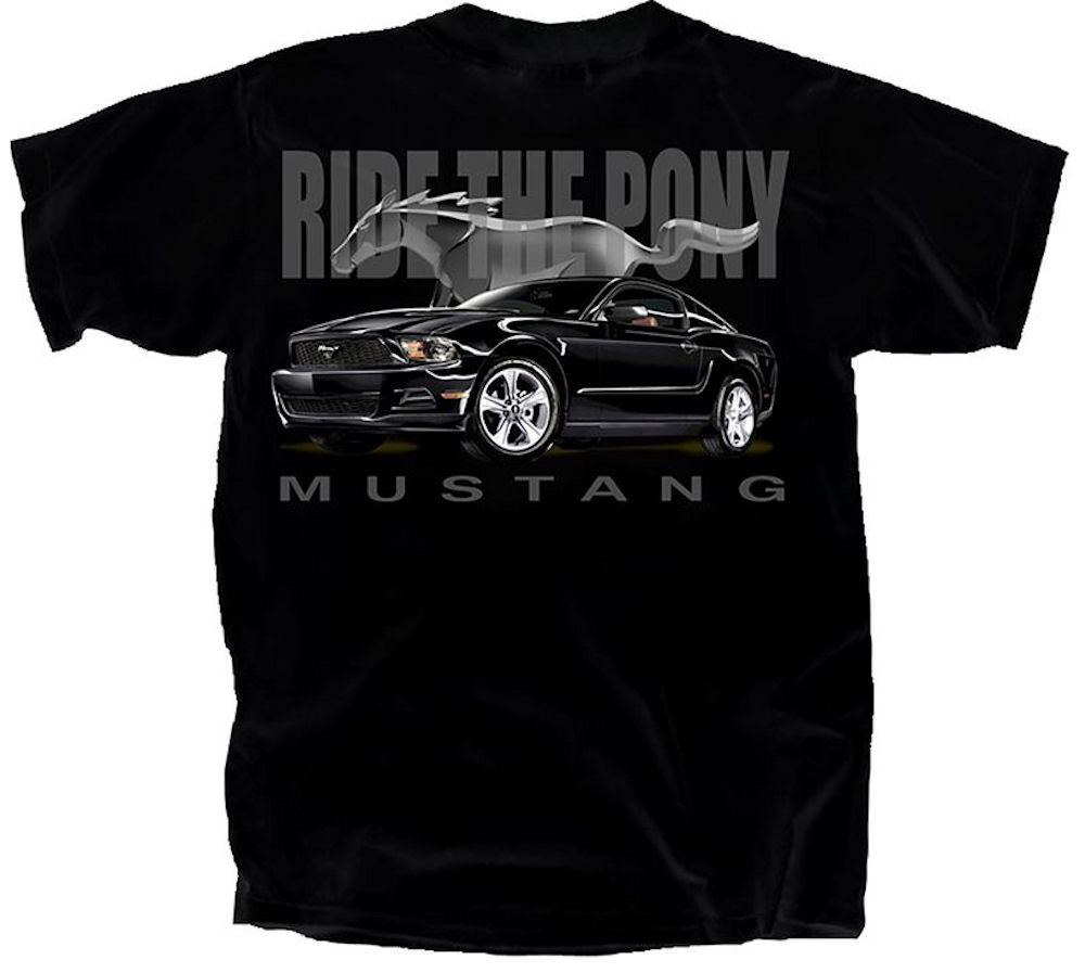 Ford Mustang Officially Licensed T Shirt Large