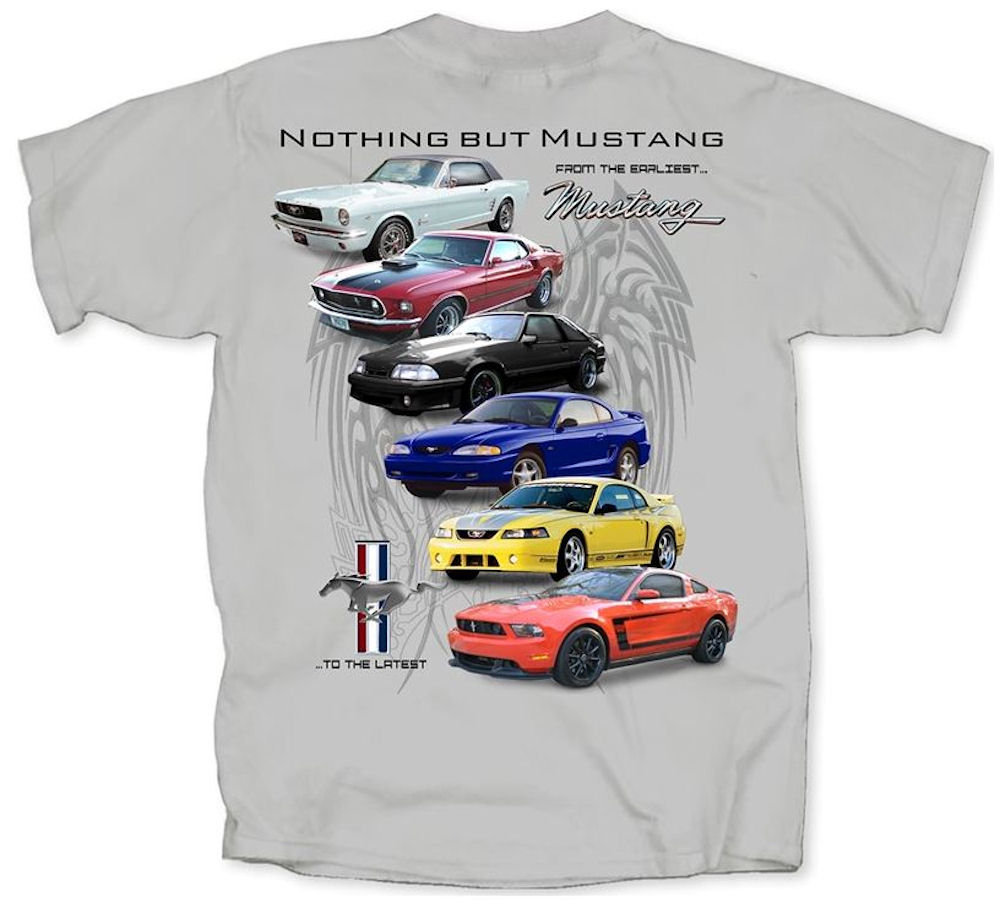 Ford Mustang Cars T-Shirt