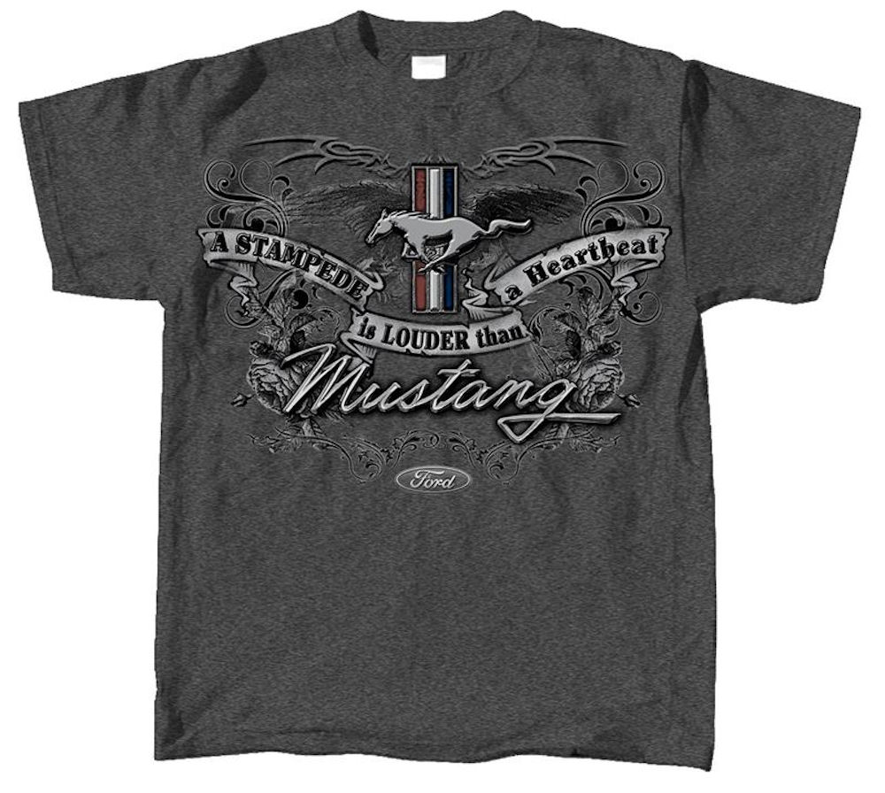 Ford Mustang Emblem T Shirt Officially Licensed XXL