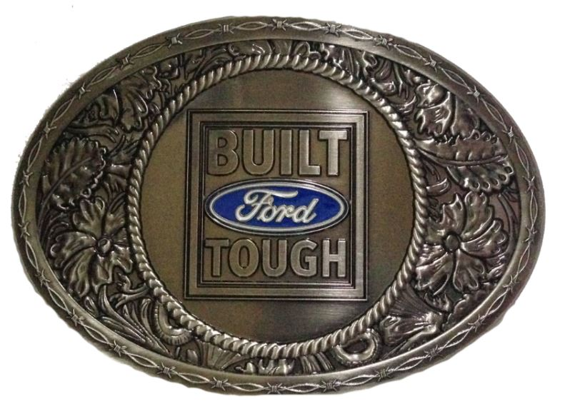 Ford Built Ford Tough Buckle