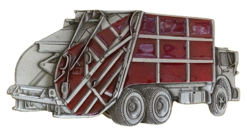 Dust Truck Red