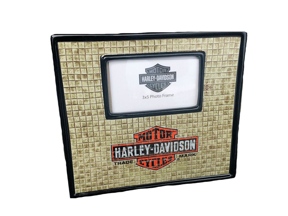 Harley Davidson Ceramic Photo Frame 3 x 5