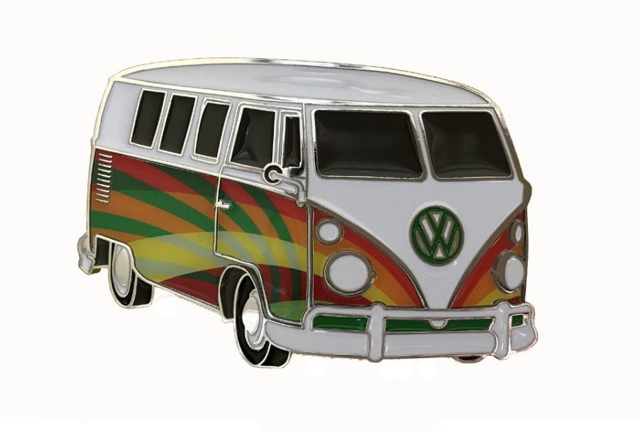 VW Camper Van Psychedelic Officially Licensed