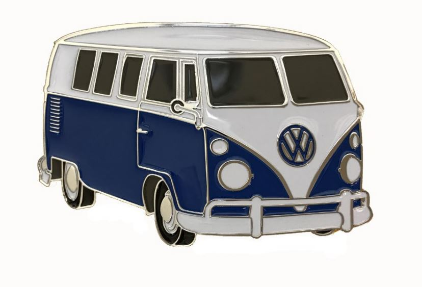 VW Camper Van Blue Officially Licensed