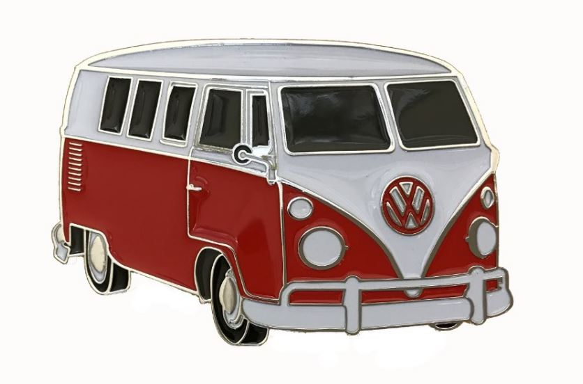 VW Camper Van Red Officially Licensed