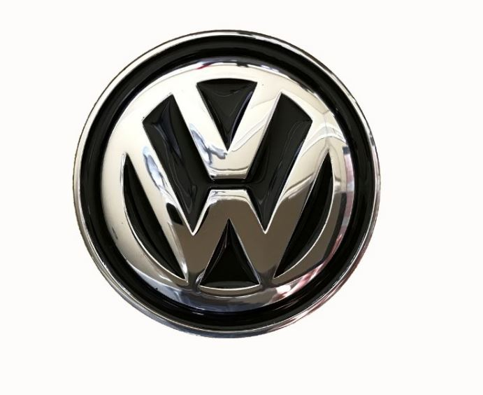 VW Logo Black Officially Licensed