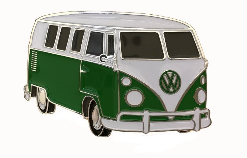 VW Camper Van Green Officially Licensed