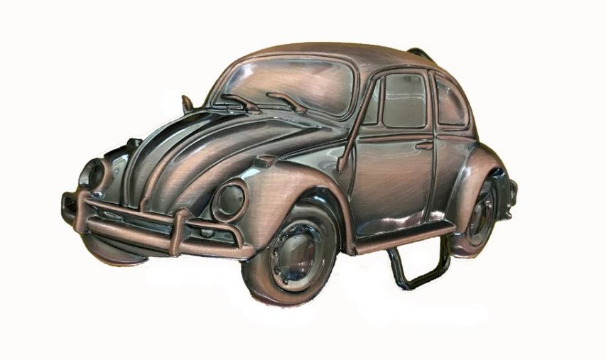 VW 3D Beetle Copper Officially Licensed