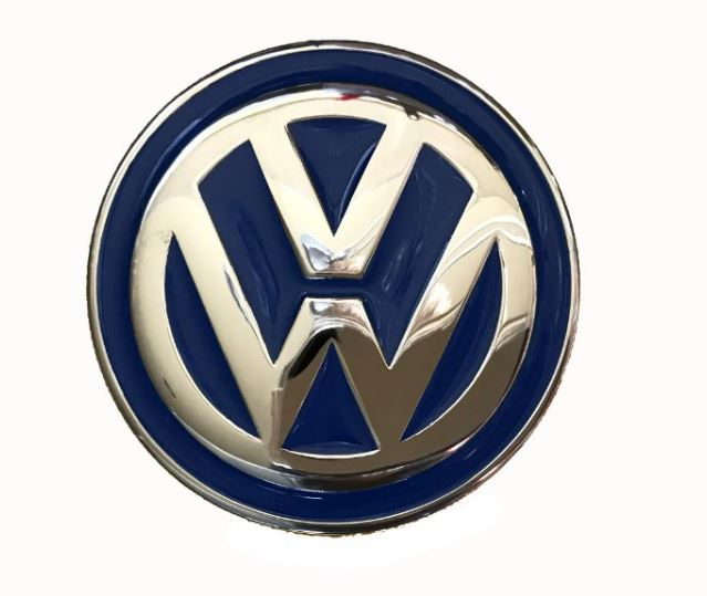VW Logo Blue Officially Licensed