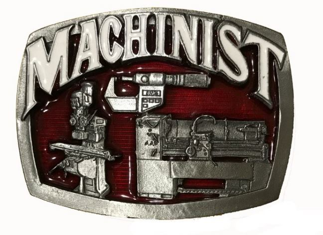 Machinist Belt Buckle