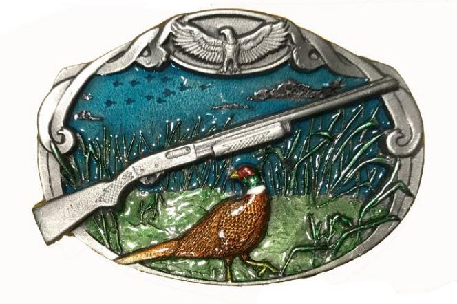 Pheasant - Gun Belt Buckle