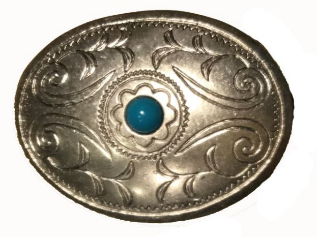 Stone Design Belt Buckle
