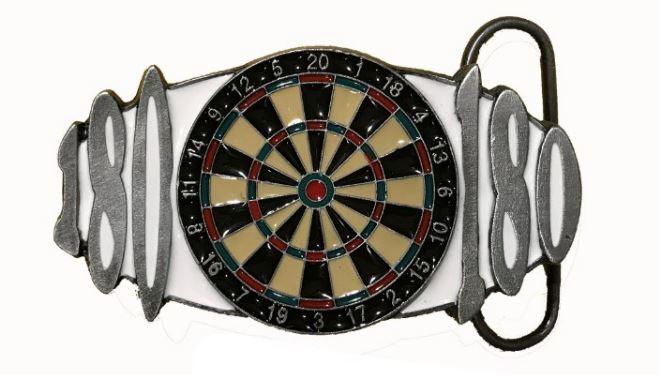 180 Darts Belt Buckle