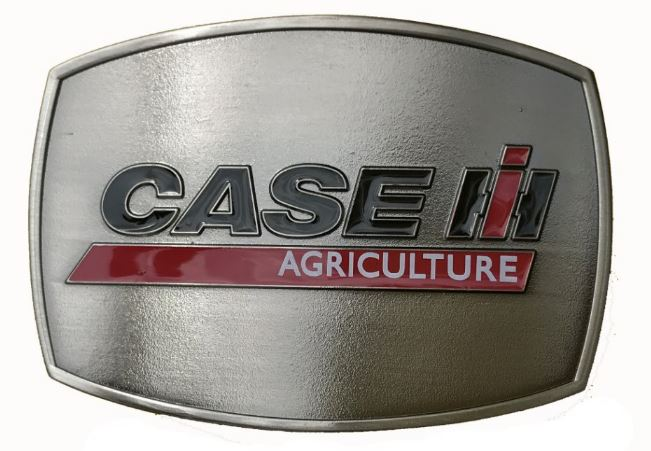Case IH Antique Pewter Buckle