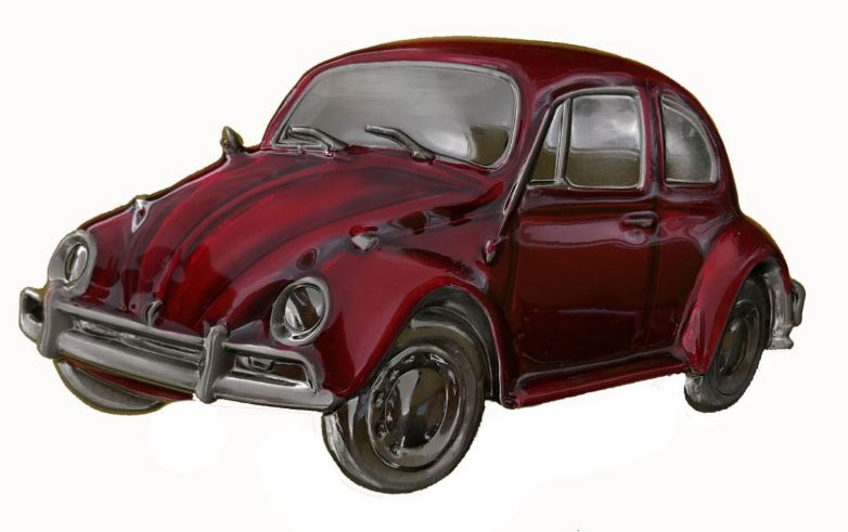 VW Beetle Red  Boxed Officially Licensed