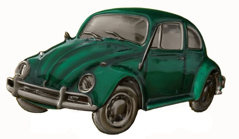 VW Beetle Green Boxed Officially Licenced