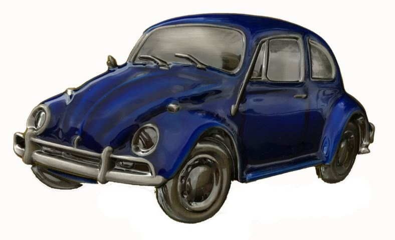 VW Beetle Blue Boxed Officailly Licensed