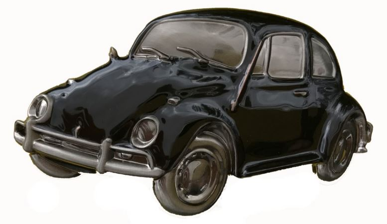 VW Beelte Black Boxed Officially Licensed