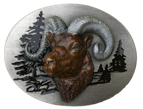 Ram Head Belt Buckle