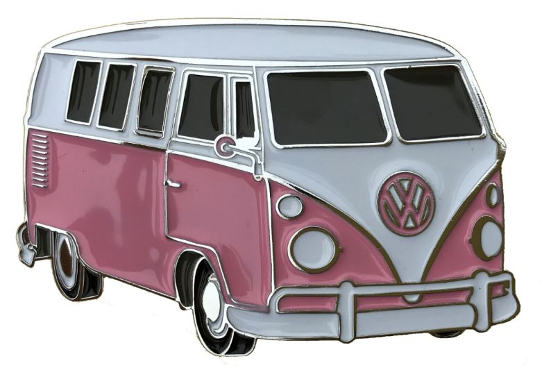 Officially Licenced VW Camper Van Pink Boxed