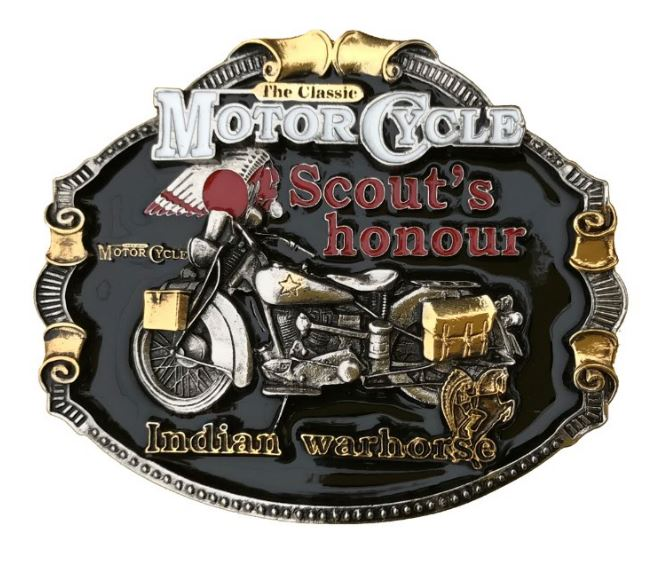 Indian Motorcycles Gold Full Colour